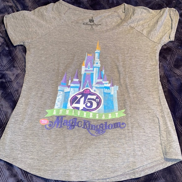 Disney Parks Magic Kingdom 45th anniversary tee